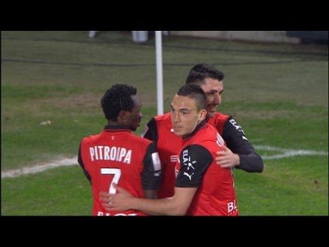 Magnifique but Julien FERET lob 51'  Stade Rennais FC  AS SaintEtienne 22  201213