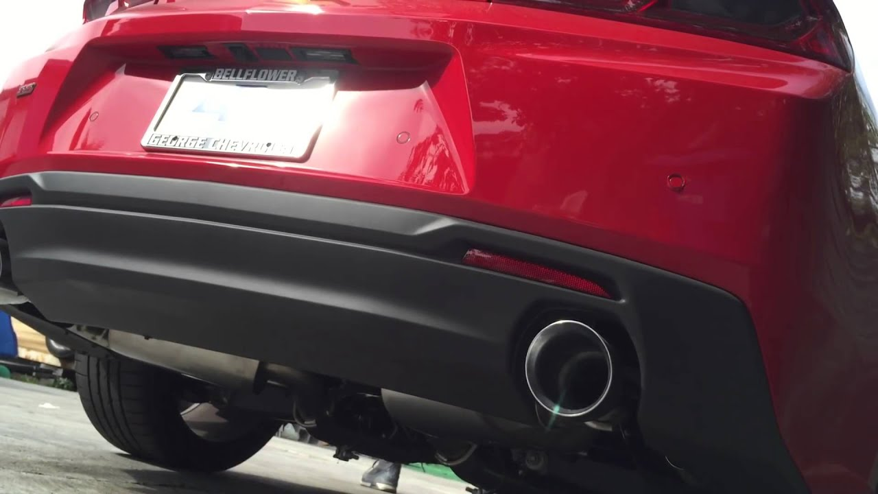 2016 Camaro Ss Chevy Performance Exhaust Axle Back