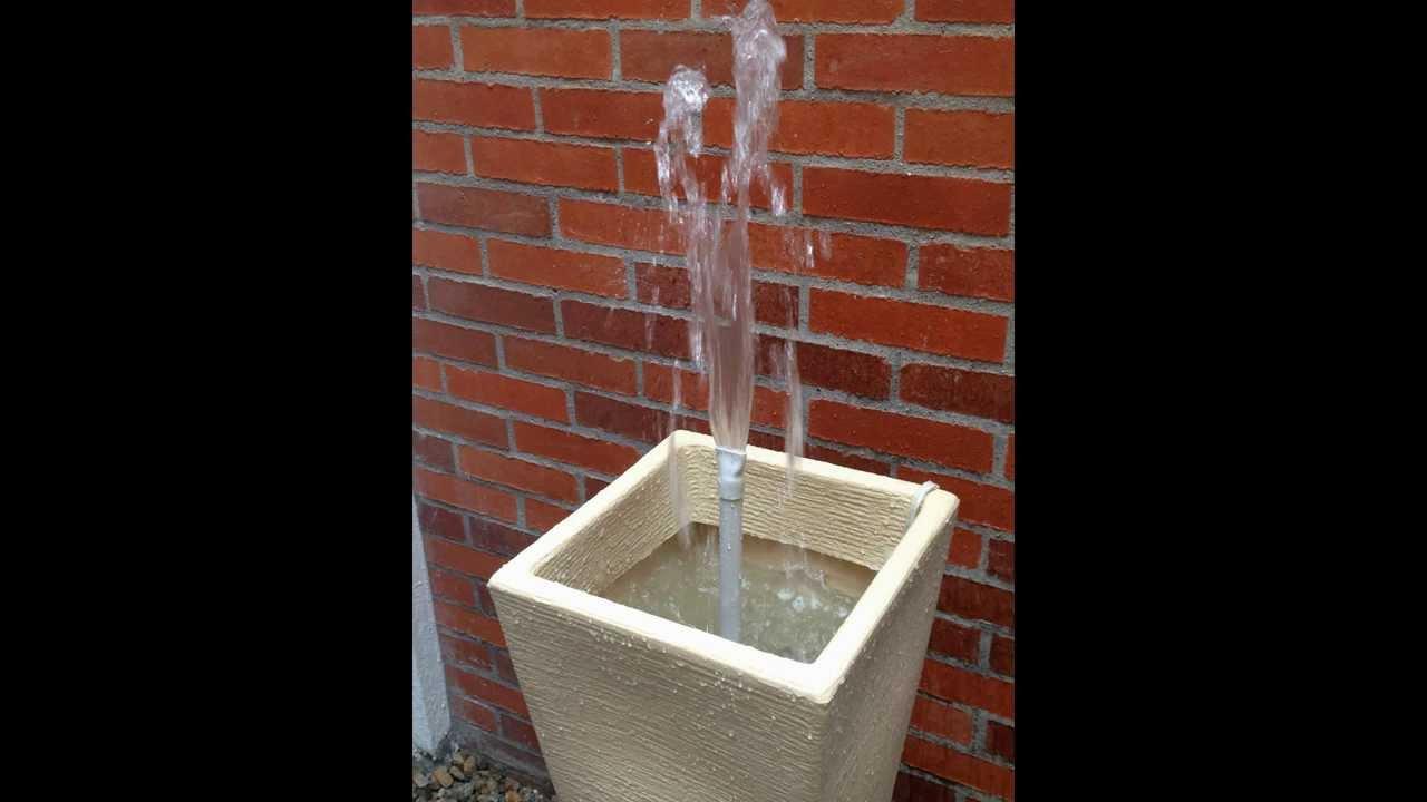 Fuente de agua ca da de agua h galo en casa youtube - Fuentes para casa ...