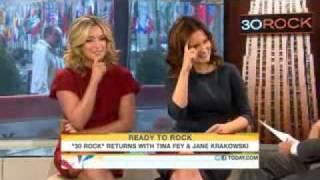 TODAY Show: Tina Fey and Jane Krakowski Discuss 30 Rock
