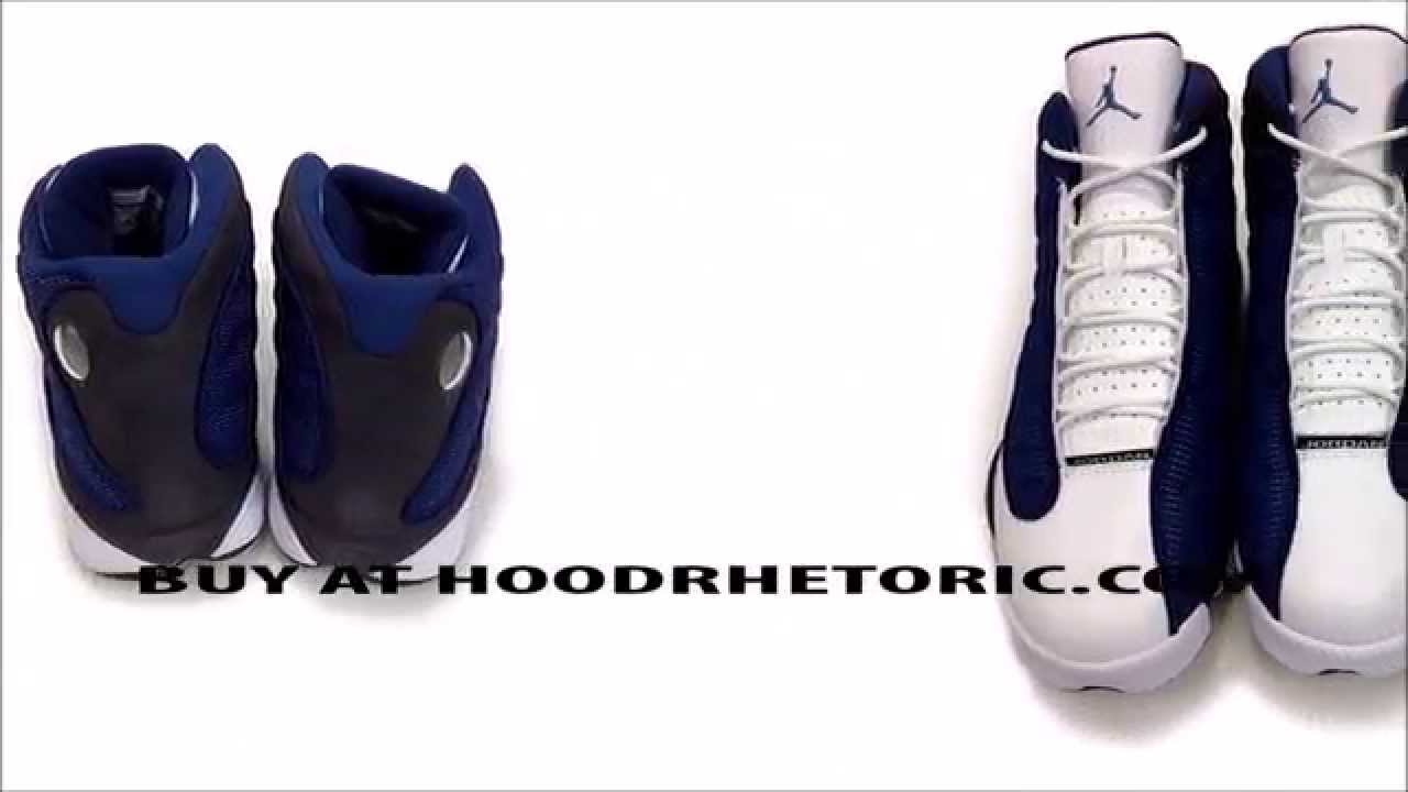c121964cf7c Air Jordan 13 XIII Retro Flints French Blue University Blue Flint Grey  414571 401