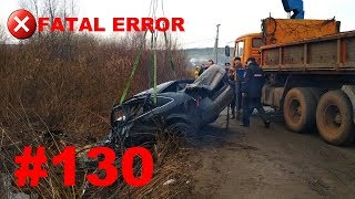 🚘🇷🇺[ONLY NEW] Russian Car Crash Road Accidents Compilation (1 May 2018) #130