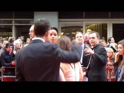 Rupert PenryJones & Dervla Kirwan Olivier Awards 2013