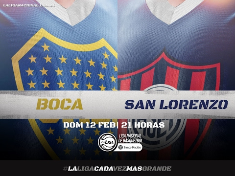 Liga Nacional: Boca vs. San Lorenzo | #LaLigaEnTyC