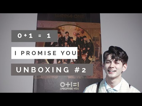 "UNBOXING - Wanna One 2nd Mini Album, ""0+1=1 (I PROMISE YOU)"" Night ver!"
