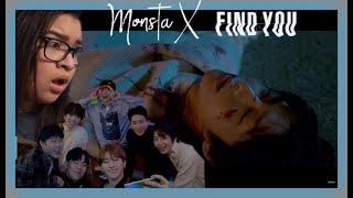 MONSTA X 몬스타엑스 'FIND YOU' Teaser REACTION