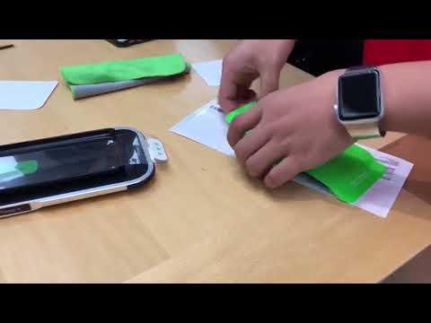 iPhone X Belkin Screen Protector Installation