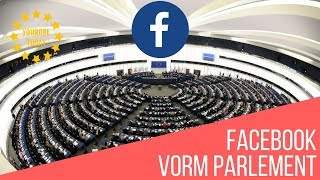 Youropetoday - Facebook vorm Parlament
