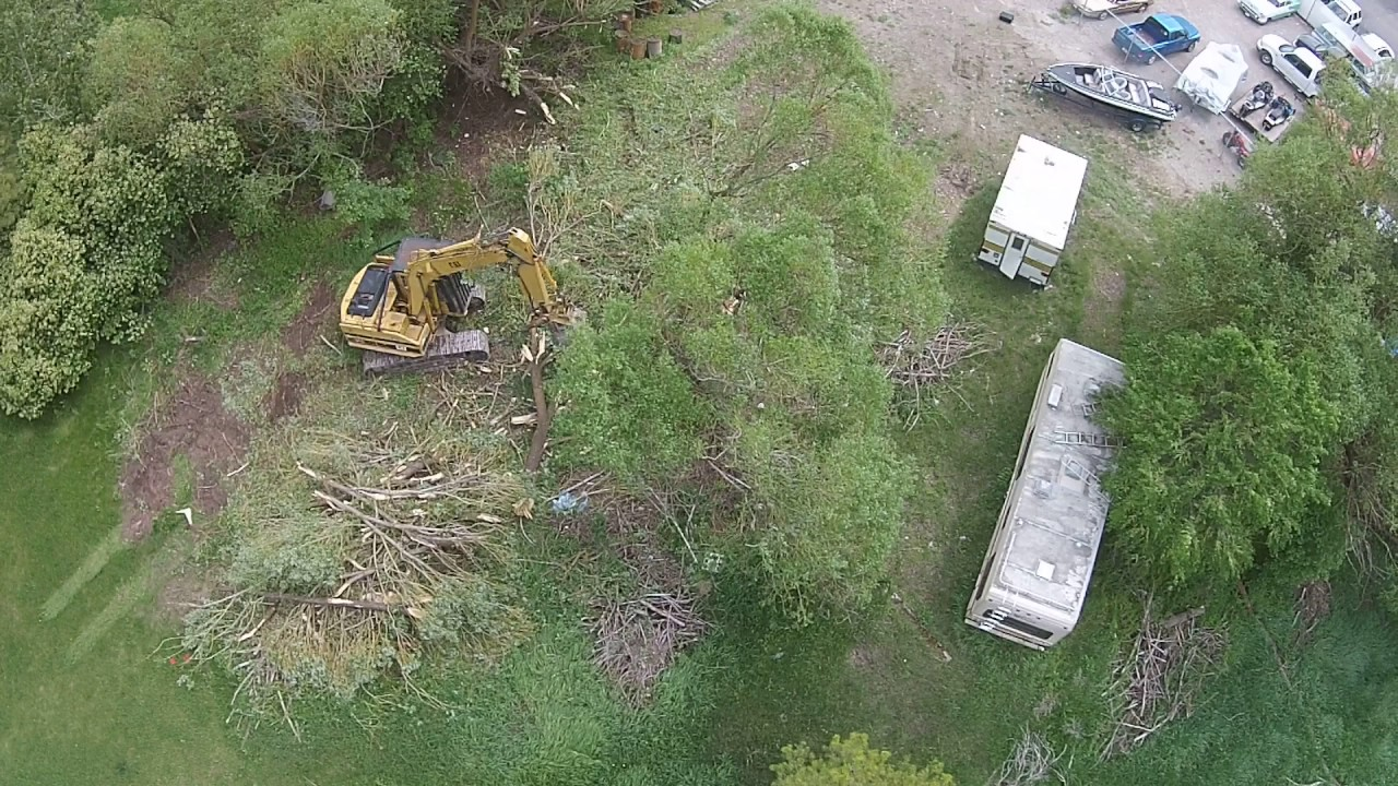 Tree Removal By Trace Woodring At Centsible Auto Sales Youtube