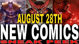 NEW COMIC BOOKS RELEASING AUGUST 28TH 2019 MARVEL AND DC COMICS COMING OUT THIS WEEK - WEEKLY PICKS