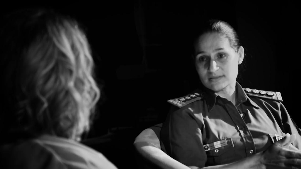 Gilda Erica Maidana, la primera mujer en ser la directora del Servicio Penitenciario Provincial.
