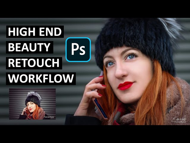 High End Beauty Retouch in Photoshop - Frequency Separation Workflow | Estee White Photography