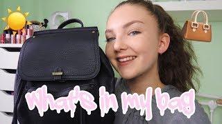 WHAT'S IN MY BAG SUMMER 2017| Floral Sophia