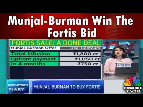 REPORTER'S STORY | Fortis Sale: Munjal-Burman Win the Bid Race | CNBC TV18