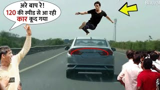 Download lagu Tiger Shroff DeadIy Jumped The Car coming Very Fast Speed | Best Stunt By Him