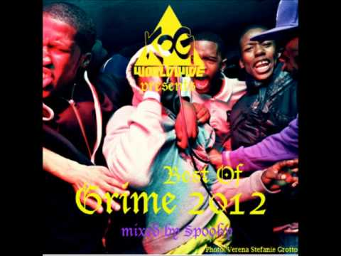 Best of Grime 2012 - Mixed By Spooky