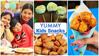 3 Yummy SNACKS Recipe for KIDS/TEENAGERS | CookWithNisha