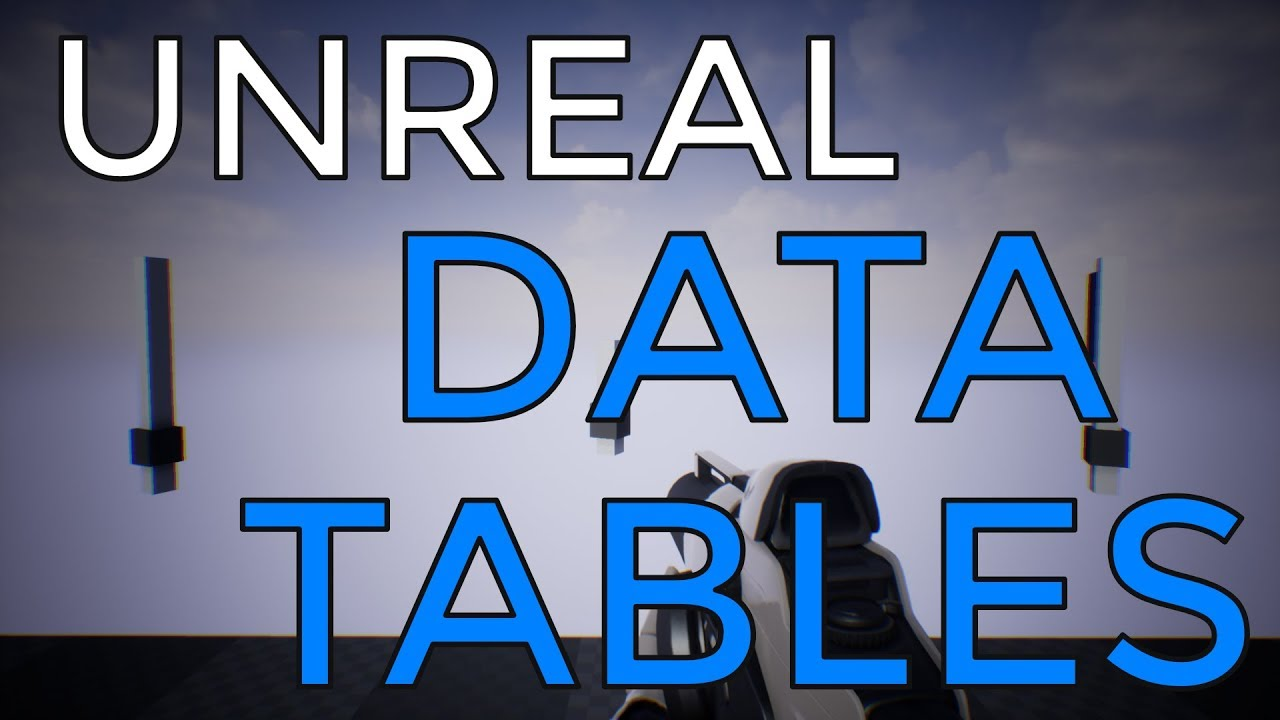 UE4 / Unreal Engine 4 / Data Tables (CSV & JSON)