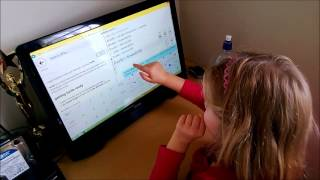 Indigo (7) Learns to Program using TouchDevelop.com
