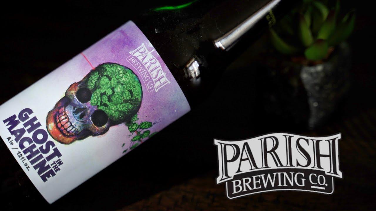 "Parish Brewing Company - ""Ghost in the Machine"" IPA Craft ..."