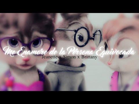 Alvin x Brittany ft. Jeanette y Eleonor - Ver Tus Lagrimas Caer (Alvin y las ardillas)