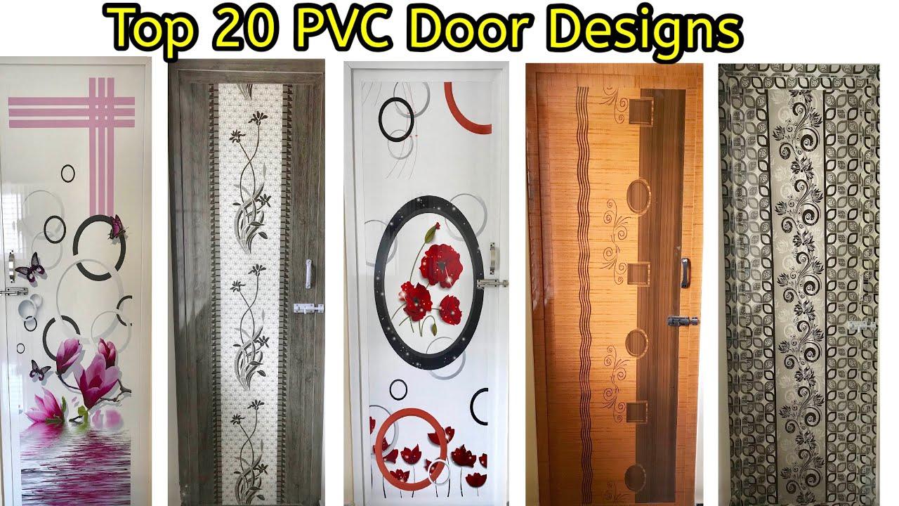 Bathroom Door Design for Indian Homes  PVC Weightless Readymade Door