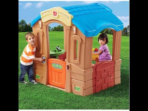 step 2 play up picnic cottage review and assembly part 2 of 3 rh youtube com playhouse cottage step 2