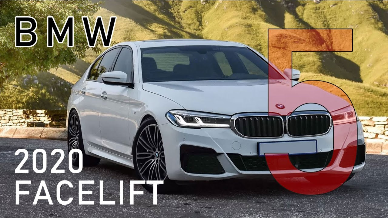 If Bmw 5 Series 2020 Facelift Changes In G30 Lci Sedan And G31 Touring 2021 Redesign Look Like This Youtube