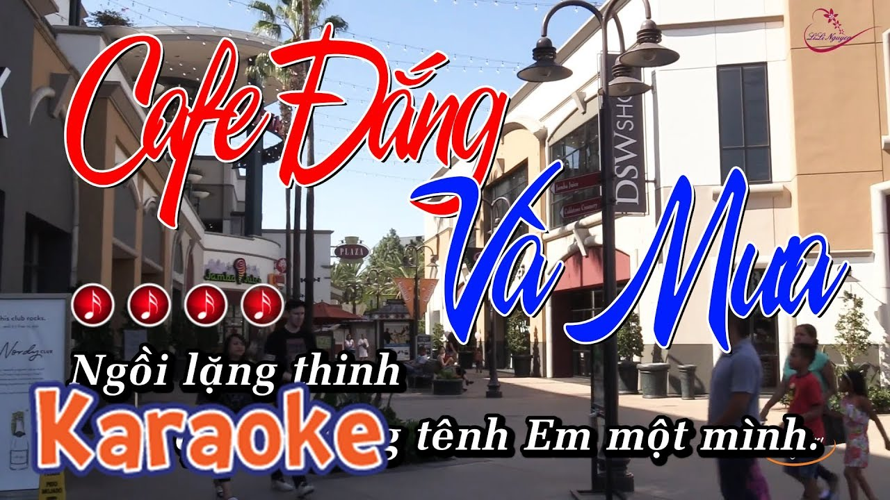 Cafe Đắng Và Mưa Karaoke – Tone Nữ | Karaoke Online