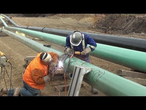 12 Inch Fill And Cap - Complete Setup - Pipeline Welding