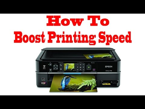 Epson Printer Printing Speed Boost or speed up upto three times
