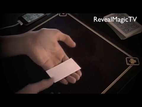 Printed business card magic magic tricks revealed youtube printed business card magic magic tricks revealed colourmoves
