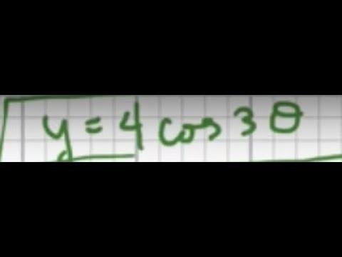 Graph y=cos3x