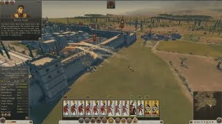 Rome 2 Total War | Siege Gameplay