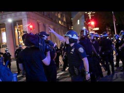 ABD'de basına yönelik polis şiddeti: 'Bizden neden rahatsız oluyorlar anlamıyorum'