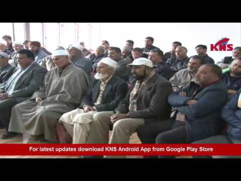 Farooq Abdullah National Conference patron meeting with party leaders, workers at Nawai-Subuh