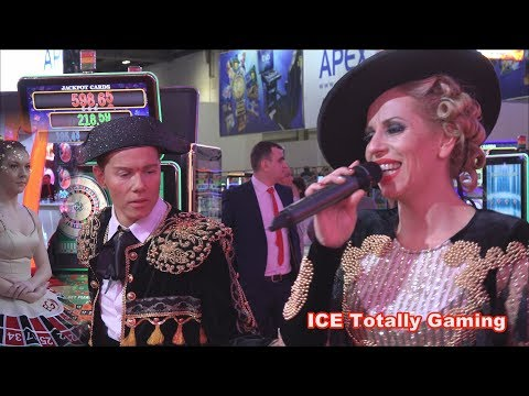 ICE Totally Gaming 2018 – EGT Dazzling Show 5 - ExCel London