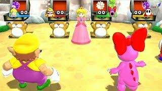 Mario Party 9 - Peach vs Perspective Mode - Fun Games - Supe Games