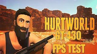 Hurtworld (Alpha) Test On Low Spec PC I GT 430 1GB I Pentium G870 I 4GB RAM