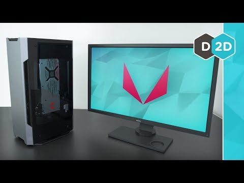 AMD Mini PC - Vega 64 Liquid + Ryzen 1700X