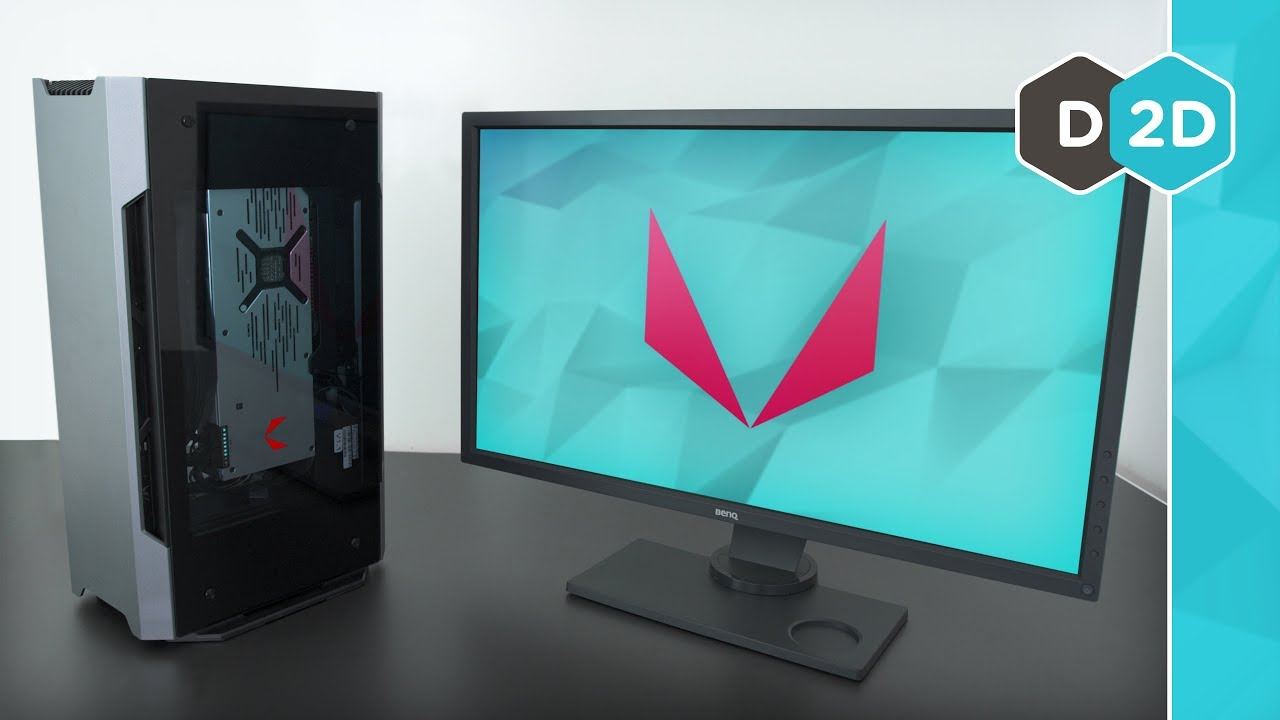 AMD Mini PC - Vega 64 Liquid + Ryzen 1700X