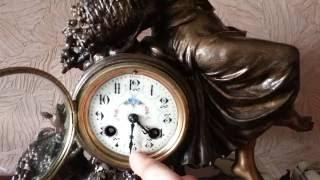 видео Часы каминные