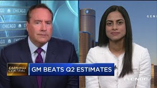 General Motors CFO breaks down its strong second-quarter earnings results
