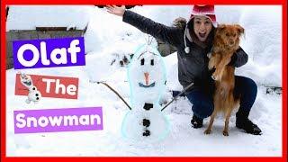 Έφτιαξα τον Όλαφ τον Χιονάνθρωπο || Dodo