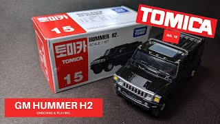 Watch CrazyUncleTan unbox and review the Tomica #15 GM HUMMER H2! Music provided by: We Are Here by Declan DP https://soundcloud.com/declandp ...