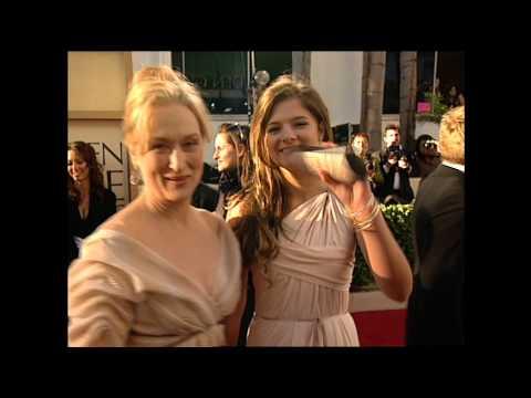 Meryl Streep Fashion Snapshot Golden Globes 2007