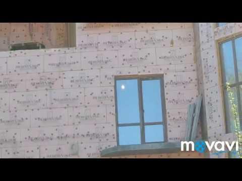 Пеноплэкс и сверху дагестанский камень, так строить нельзя! Фасад убийца хозяев дома.