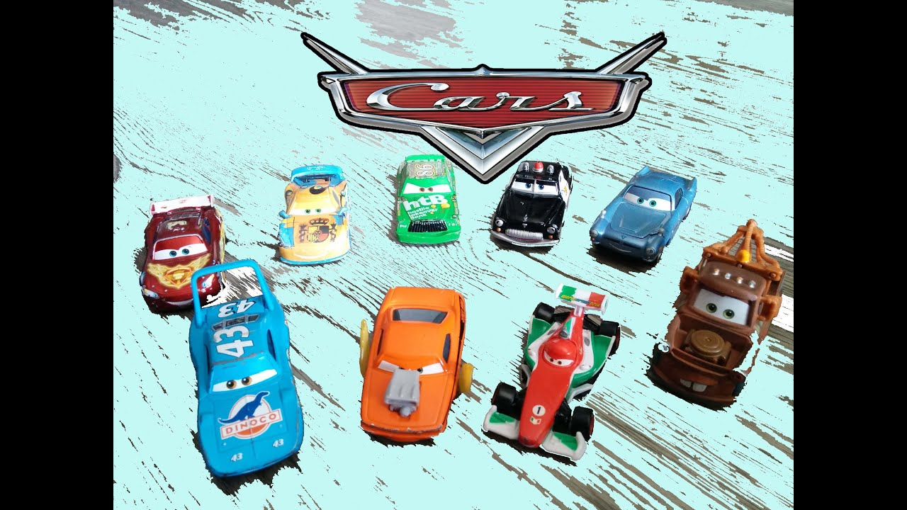 Coleccion de coches de cars en espa ol juguetes para ni os - Cars en juguetes ...