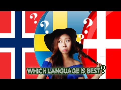 Norwegian VS Swedish VS Danish Language
