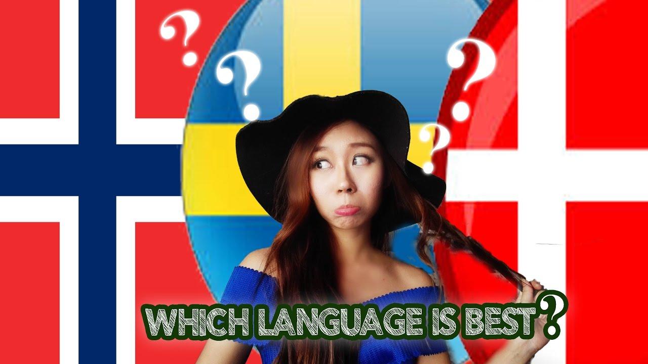 Norwegian Vs Swedish Danish Language